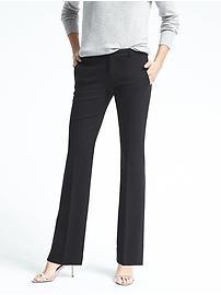 Logan Trouser-Fit Lightweight Wool Pant