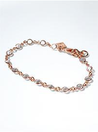 Bracelet délicat à pierres nues