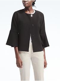 Bell-Sleeve Jacket
