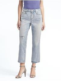 Vintage Straight Light Wash Jean