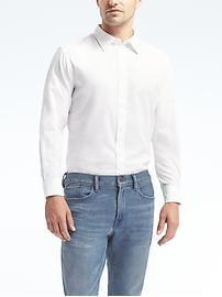 Chemise blanche coupe Camden fini sur mesure 078 armuré