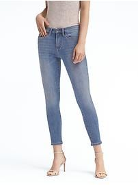 Skinny Zero Gravity Light Wash Ankle Jean