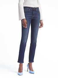 Slim-Straight Sculpt Medium Wash Jean