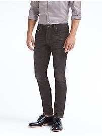 Jean noir coupe étroite