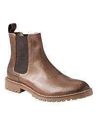 Lug-Sole Chelsea Boot