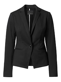 LIFE IN MOTION Classic-Fit Ponte Blazer