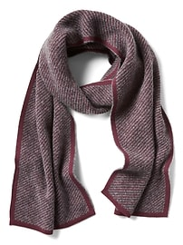 Double-Faced Twill Scarf