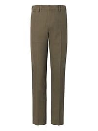 Pantalon Mason texturé et fuselé