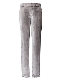 Heritage Ryan Slim Straight-Fit Velvet Pant