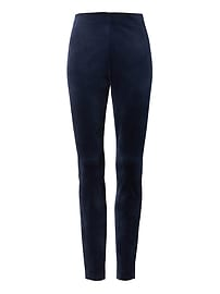 Legging coupe Devon en velours au sabre extensible