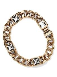 Bracelet chaîne doré