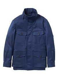 Water-Resistant Four-Pocket Jacket