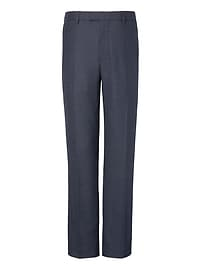 Standard Houndstooth Performance Stretch Wool Flannel Dress Pant