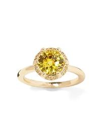Bare Sunflower Stones Ring