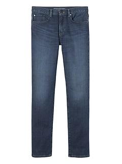Slim Traveler Blue Ink Wash Jean