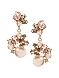 Blush Pearl Statement Earring