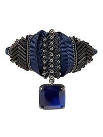 Sapphire Medal Brooch
