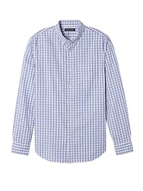 Grant Slim-Fit Cotton-Stretch Check Oxford Shirt