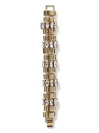 Bracelet strié scintillant
