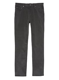 Slim Five-Pocket Corduroy Pant