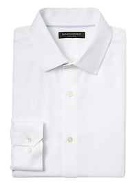 Grant Slim-Fit Non-Iron Stretch Solid Shirt