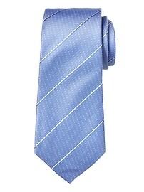 Refined Stripe Dot Nanotex® Tie