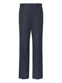 Standard Non-Iron Stretch Cotton Solid Pant