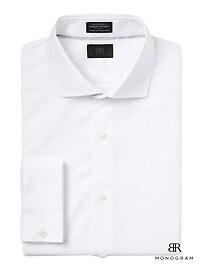 Monogram Grant Slim-Fit French-Cuff Shirt