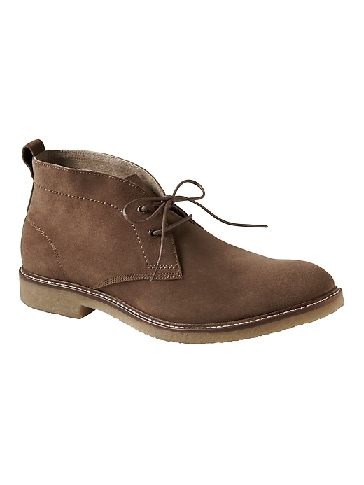 Darrien Suede Chukka Boot by Banana Repbulic