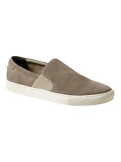 Tylan Suede Slip-On Sneaker