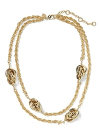 Collier Love Knot