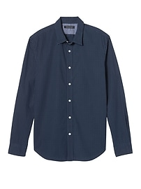 Grant Slim-Fit Custom-Wash Dot Shirt