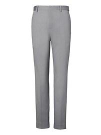Pantalon en coton extensible sans repassage, coupe Mason fuselée