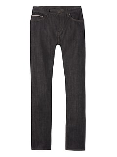 Slim Black-Wash Selvedge Jean
