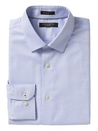 Camden Standard-Fit Non-Iron Stretch Solid Shirt