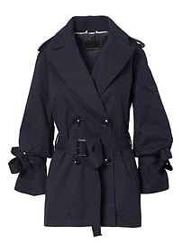Water-Resistant Tie-Sleeve Trench