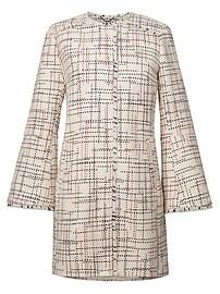 Manteau en tweed italien