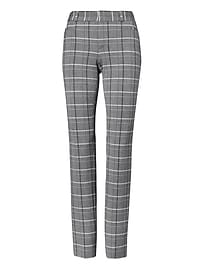Sloan Skinny-Fit Plaid Pant