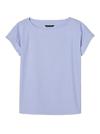 T-shirt raffiné à rayures