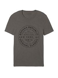 Vintage 100% Cotton Graphic Crew