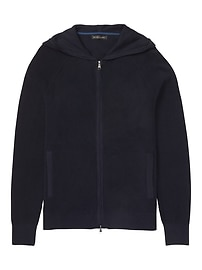 SUPIMA® Cotton Full-Zip Hoodie