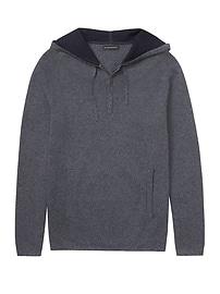 Textured Half-Zip Hoodie with COOLMAX® Technology