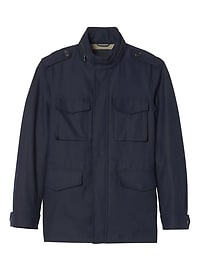 Water-Repellent Four Pocket Jacket
