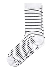 Skinny Stripe Trouser Sock
