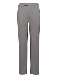 Slim Stripe Performance Stretch Wool Dress Pant