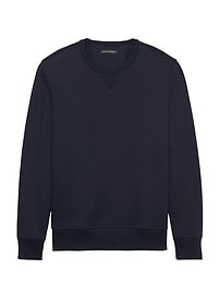 French Terry Sweatshirt Crew