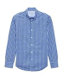 Camden Standard-Fit Luxe Poplin Gingham Shirt