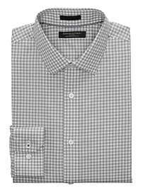 Camden Standard-Fit Non-Iron Stretch Gingham Shirt
