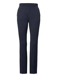 Ryan Slim Straight-Fit Machine-Washable Italian Wool Blend Pant