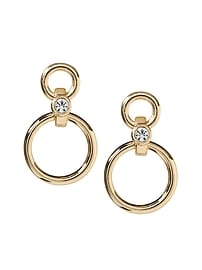 Delicate Ring Frontal Hoop Earring